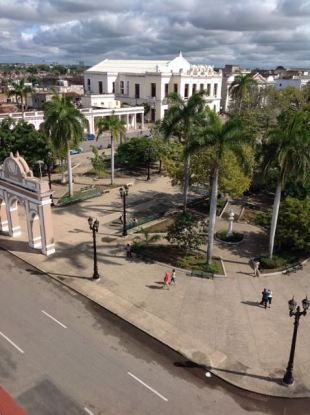 Parque Jose Maria from the Duarte mansion